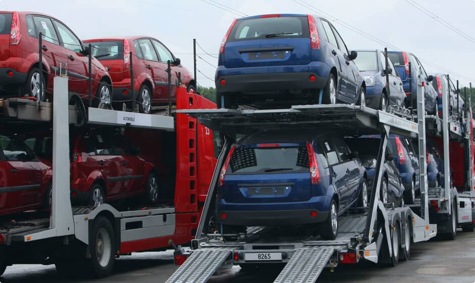 Transport type as a cost to ship a car component