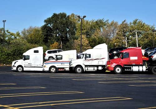 Montway Auto Transport truck fleet