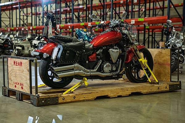 International motorcycle shipping