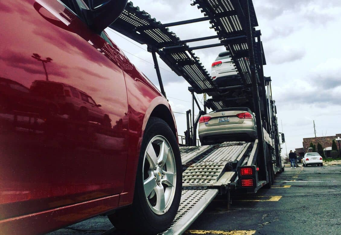 Car buyers vehicle shipping